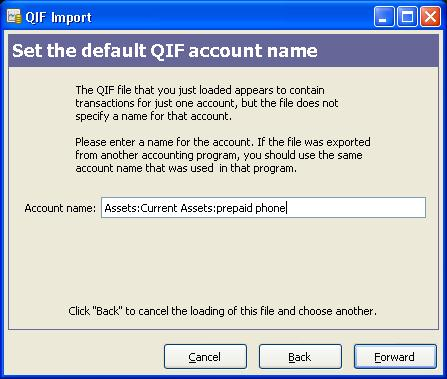 load QIF file